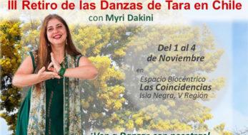 1 al 4 de Noviembre / 3er Retiro de las Danzas de Tara en Chile