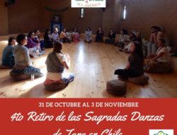 4to Retiro TARADANZA en Chile, 31 de Octubre al 3 de Noviembre