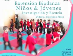 EXTENSION BIODANZA NIÑ@S Y JOVENES 2020