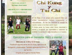 Práctica de Chi Kung y Tai Chi, Miércoles 12 Hrs